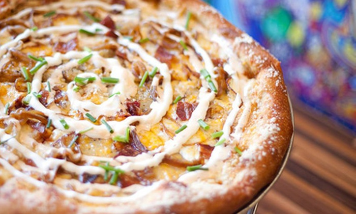 Mellow Mushroom - Greensboro: $11 for $20 Worth of Pizza, Calzones, Hoagies, and Salads at Mellow Mushroom