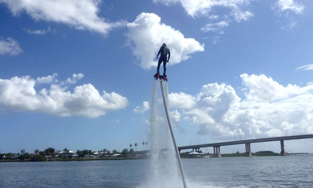 60-Minute Experience for One, Two, or Four from Jet Stream Flyboarding (Up to 63% Off)