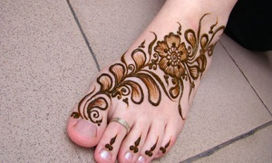 Threading and More: Up to 52% Off One or Three Henna Tattoos at Threading and More