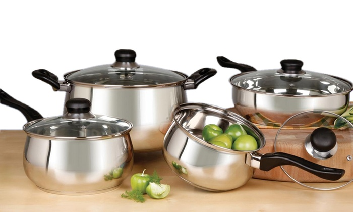 Oster 8-Piece Rametto Stainless Steel Cookware Set: Oster 8-Piece Rametto Stainless Steel Cookware Set. Free Returns.