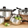 Oster 8-Piece Rametto Stainless Steel Cookware Set
