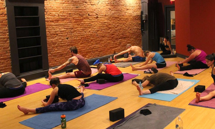 Firefly Hot Yoga Bar - Downtown: Five Classes, One Month of Classes, or One Year of Classes at Firefly Hot Yoga Bar (Up to 64% Off)