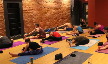 Five Classes, One Month of Classes, or One Year of Classes at Firefly Hot Yoga Bar (Up to 70% Off)