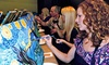 Art Social: Three-Hour Painting Class for One, Two, or Four at a Local Bar or Restaurant from Art Social (Up to 53% Off)