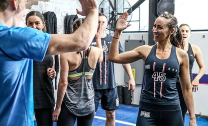 One-Month Unlimited Membership or 10 Classes at F45 San Diego Downtown (Up to 89% Off)