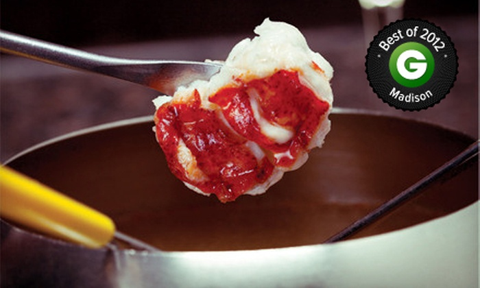 Melting Pot - Park Towne: Three-Course Fondue Meal for Two, Four, Six, or Eight at Melting Pot (Half Off)