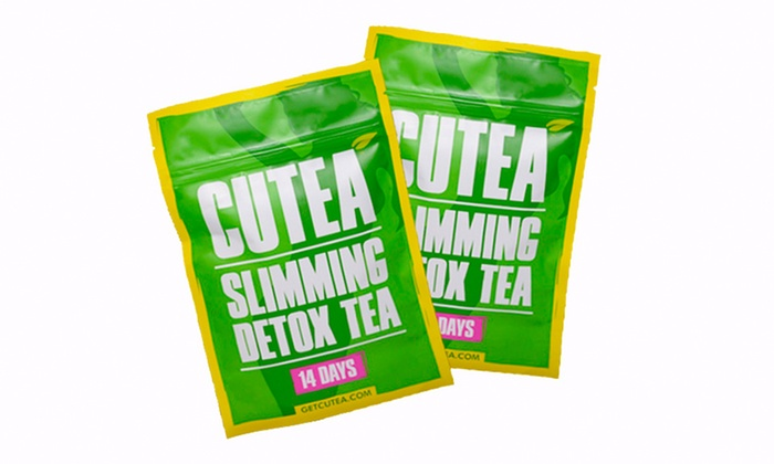 CUTEA Organic Slimming Detox Tea (14- or 28-Days)