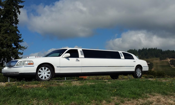 Rip City Limos - Multiple Locations: $49 for One Five-Hour Limo or Party Bus Wine Tour from Rip City Limos ($100 Value)