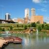 Wyndham Hotel with Indoor Water Park near Downtown Tulsa