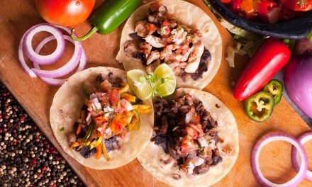 $15 for Three Groupons, Each Good for $10 Worth of Authentic Mexican Street Food at Garnacha's ($30 Value)