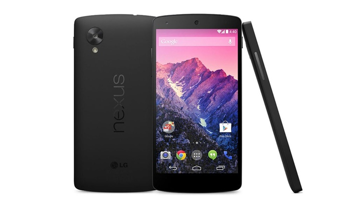 Groupon Goods Global GmbH: Google Nexus 5 Quad Core 4G Smartphone for £285 With Free Delivery (27% Off)