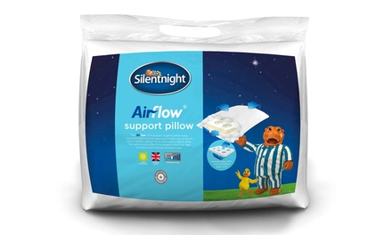 One or Two Silentnight Airflow Orthopaedic Pillows from £8.99