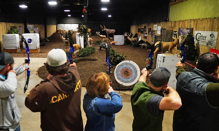 Whale-Tales Archery - Dousman: One Hour of Indoor Range Time for One, Two, or Four at Whale-Tales Archery (Up to 48% Off)