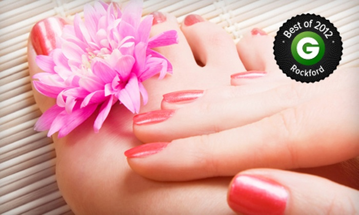 Bedazzled Salon and Day Spa - Roscoe: Mani-Pedi for One or Two at Bedazzled Salon and Day Spa (Up to 55% Off)