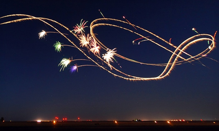 GGAS Nighttime Air Show - Metro Atlanta: Nighttime Admission to The Great Georgia Air Show for One or Family of Four (Up to Half Off)