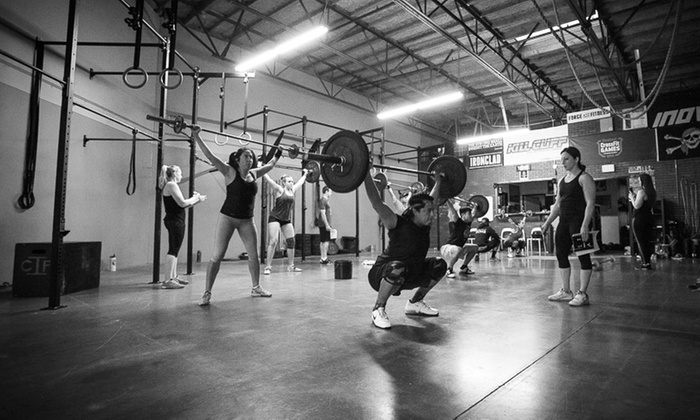 CrossFit Irons - Vista: $49 for One Month of CrossFit Classes at CrossFit Irons ($150 Value)