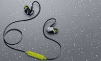 GROUPON: Merkury Innovations Link Wireless Sweat-Proo... Merkury Innovations Link Wireless Sweat-Proof Earbuds with Microphone