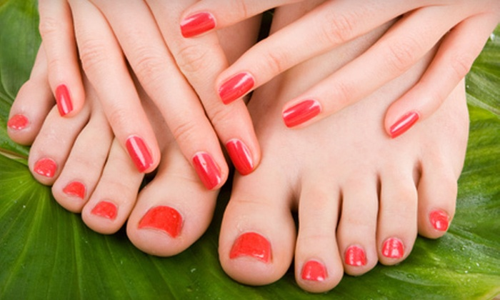 Nails By Shaniece - Hayden: Shellac Manicure, Pedicure, or Mani-Pedi with Paraffin Wax at Nails by Shaniece in Hayden (Up to 65% Off)
