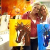Up to 53% Off Class with Wine at Spellbound Art