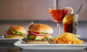 The Yard: Choice of Gourmet Burgers and Drinks from R136 for Two at The Yard (Up to 54% Off)