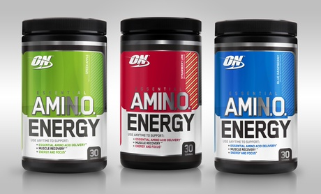 30-Serving Container of Optimum Nutrition Amino Energy Supplements (1- or 2-Pack)