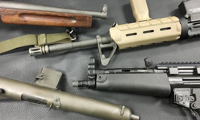 The Machine Gun Nest - Ballenger Creek: Full Auto Machine-Gun Experience or Range Package for One or Two at The Machine Gun Nest (Up to 45% Off)