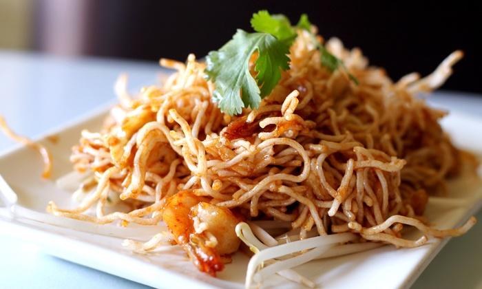 Nariya Thai Cuisine - Hollywood: $16 for $30 Worth of Thai Cuisine for Dine-In Service at Nariya Thai