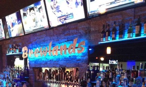 Brewlands Bar & Billiards: $25 for $49 Worth of Food and Pool at Brewlands Bar & Billiards