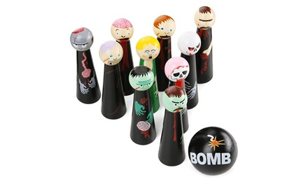 Bowling Zombies Wooden Novelty Game for £11.98