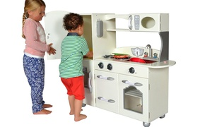 Teamson Designs Wooden Play Kitchen Sets