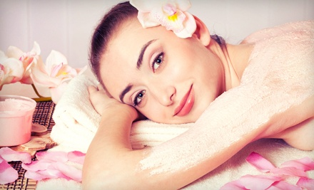 One or Three Detoxifying Seaweed Wraps or Passion Glow Sugar or Salt Wraps at Day Spring Wellness Spa (Up to 61% Off)