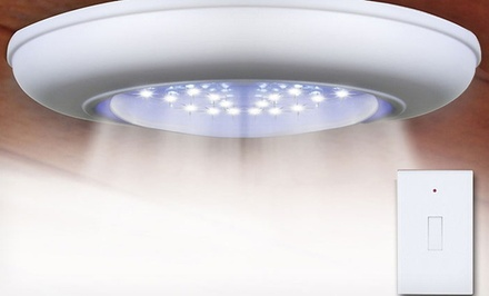 Cordless Ceiling and Wall Light with Remote Control