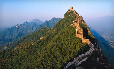 Visit Great Wall of China on Tour with Airfare