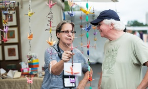 Bayou City Art Festival: One, Two, or Four Single-Day Adult Tickets to the Bayou City Art Festival on October 10 or 11 (20% Off)