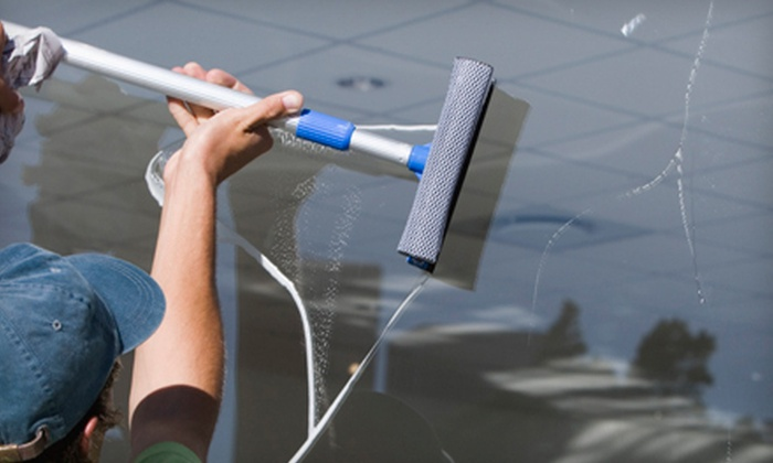 Terri's Cleaning Service - Grand Rapids: Interior and Exterior Cleaning for 15, 25, or 35 Windows from Terri's Cleaning Service (Half Off)