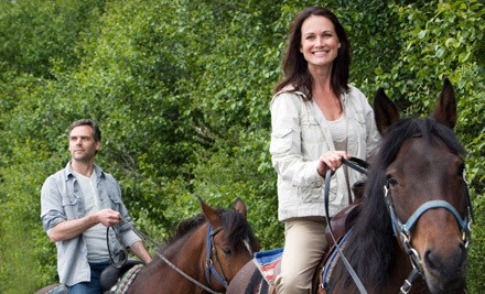 Horseback Trail Ride and Cookout for 2 (a $160 value) - Equine Boulevard in Agawam