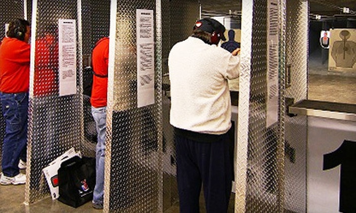 On Target STL - Valley Park: Shooting-Range Package for Two or Four with Handgun Rental, Ammo, and Range Time at On Target STL (Up to 56% Off)
