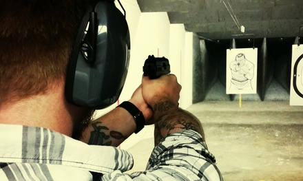 Handgun Shooting Experience for One, Two, or Four at The Marksman Armory (Up to 50% Off)
