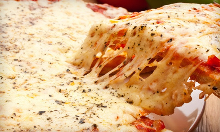 Amici Pizzeria - Raritan: Five 16-Inch Pizzas, or $12 for $25 Worth of Any Italian Food at Amici Pizzeria