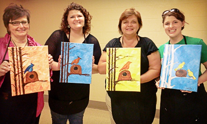 YouCanBeAnArtist.com - Maumee: Painting Class for One, Two, or Four at YouCanBeAnArtist.com (Up to 47% Off)