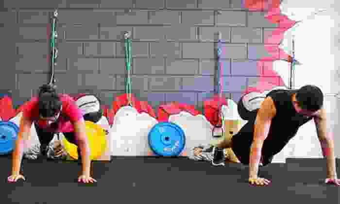 E C Fitness - Puck's Alley: Warrior Fitness Classes or Personal-Training Sessions at E C Fitness (Up to 77% Off). Four Options Available.