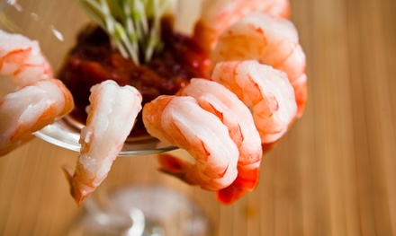 Appetizers with Draft Beer or Wine for Two or Four at 2 Palms Bar & Bistro (Up to 55% Off)