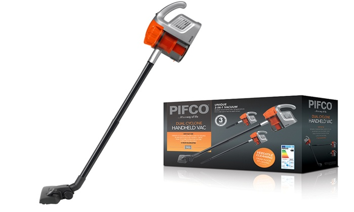 pifco dual cyclone handy vacuum cleaner
