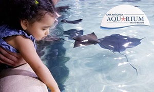 Up to 54% Off Admission and Activities at San Antonio Aquarium at San Antonio Aquarium, plus 6.0% Cash Back from Ebates.