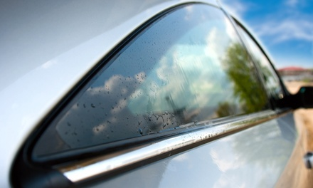 Automotive Window Tinting or Home Window Security Film from Soundcrafters (50% Off). Four Options Available.