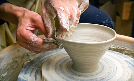 Private Pottery Lesson for Two, Four, or Six or $15 for $30 Worth of Pottery Projects for Two at Lala Gallery & Studio