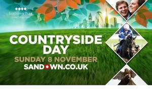Sandown Park Racecourse: Sandown Park Racecourse: Countryside Day Grandstand Ticket, 8 November (Up to 38% Off)