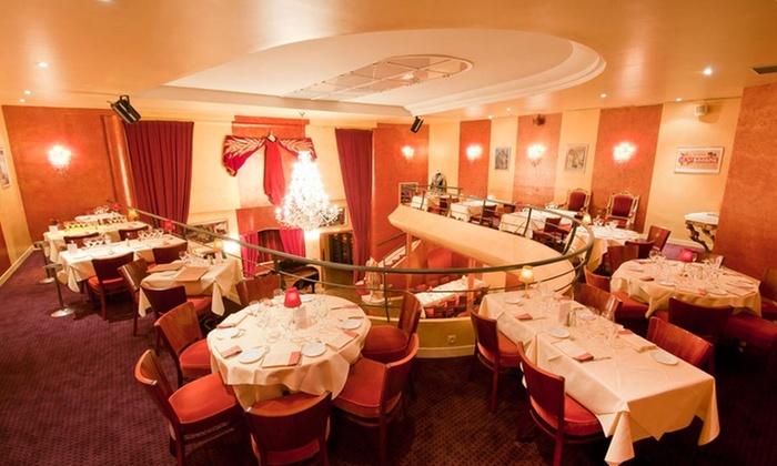 """Bel Canto Neuilly - Bel Canto: Menu lyrique avec coupe de champagne """"Bel Canto"""" en option pour 1 ou 2 pers. dès 55 € au restaurant Bel Canto à Neuilly"""