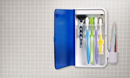 Pursonic Wall-Mountable S2 UV Toothbrush Sanitizer