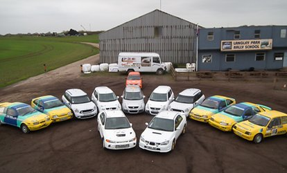 image for Junior (Age 8+) Driving Experience For Up to Four at Langley Park Rally School (Up to 65% Off)